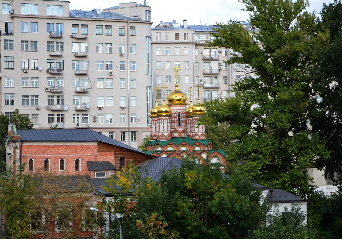 Храм Николая на Берсеневке. - Oleg4618 Шутченко