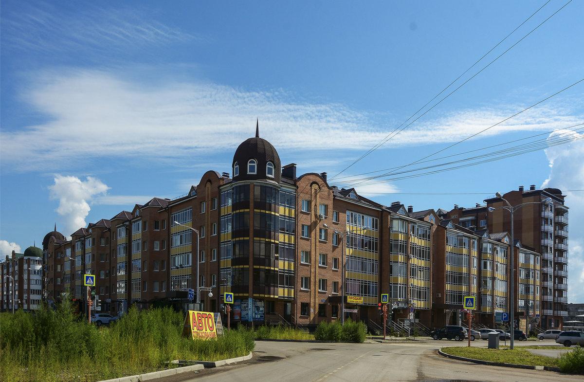 Здание в новом микрорайоне - юрий Амосов