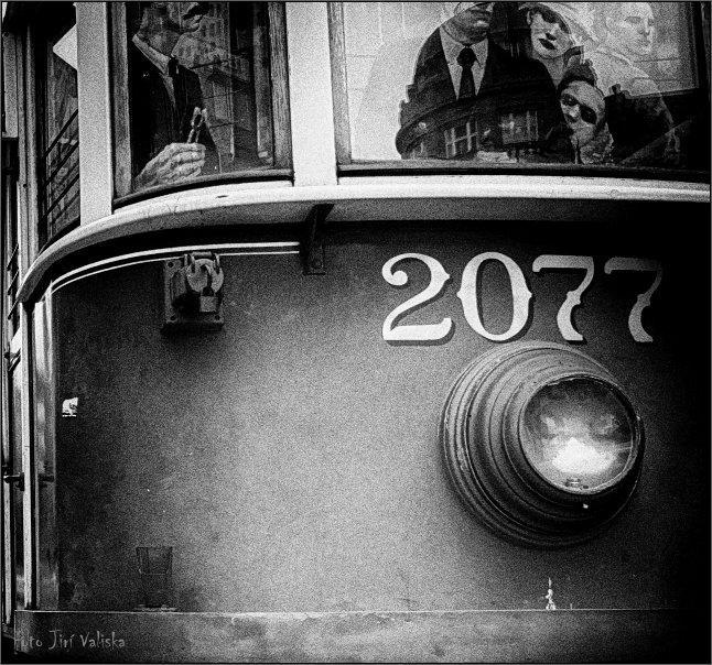 трамвае № 2077 - Jiří Valiska