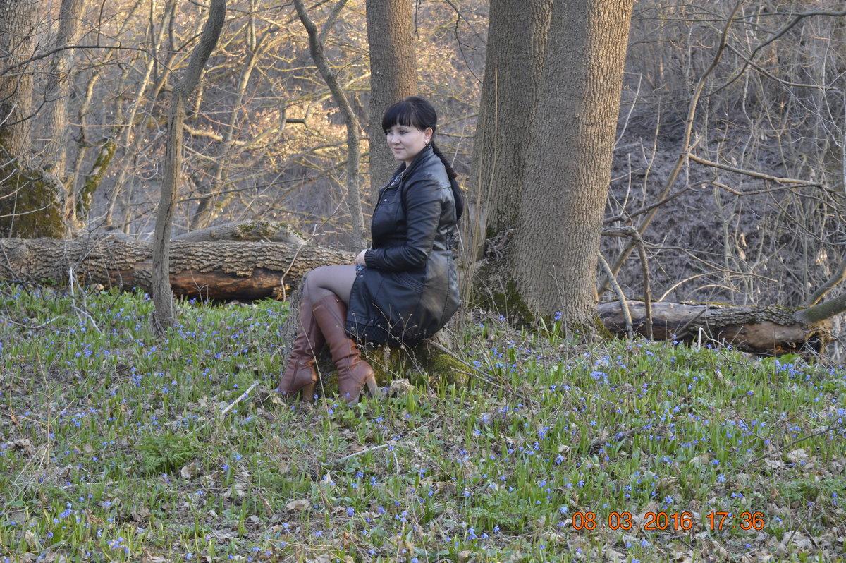 отдых в лесу - Анастасия Ткаченко