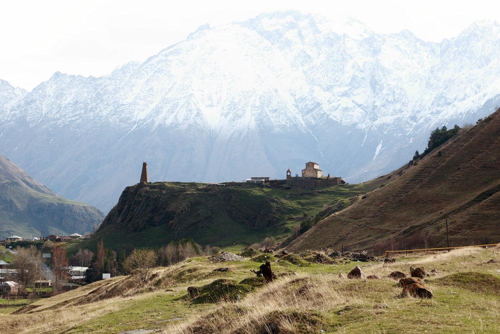 в горах Грузии - Лидия кутузова