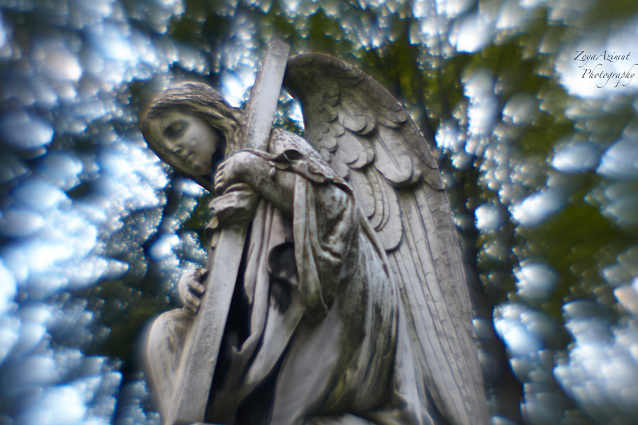 Старинное надгробие - Зоя Азимут