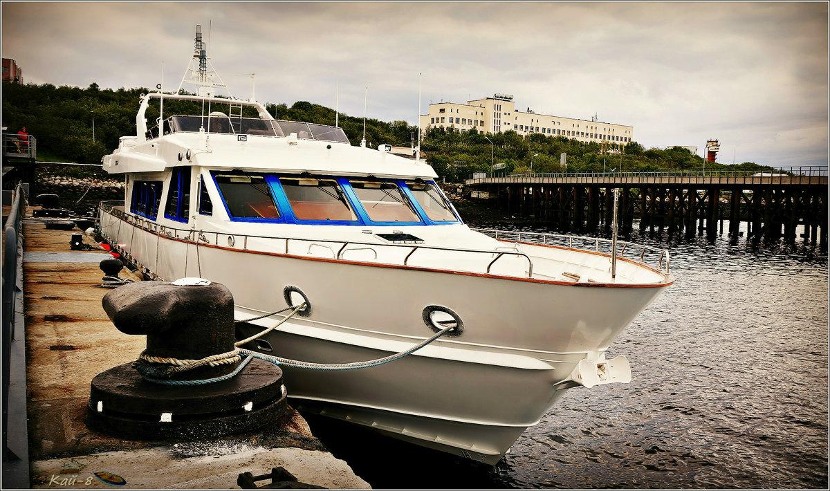 Яхта командующего СФ - Кай-8 (Ярослав) Забелин