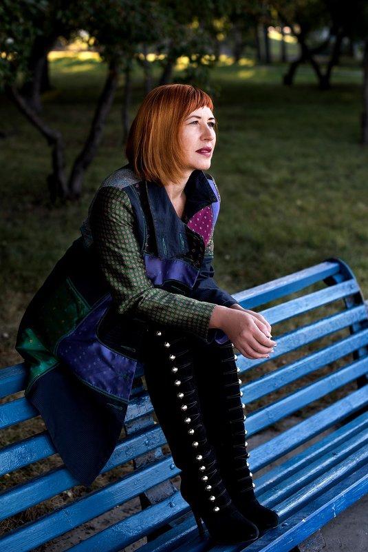 Девушка в парке - Sergey Miroshnichenko