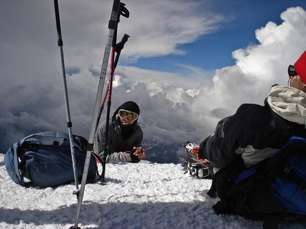 Из архива. На вершине Эльбруса. 2007год - Татьяна Найдёнова