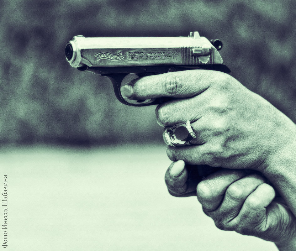 Оружие в руках женщины! - Inessa Shabalina