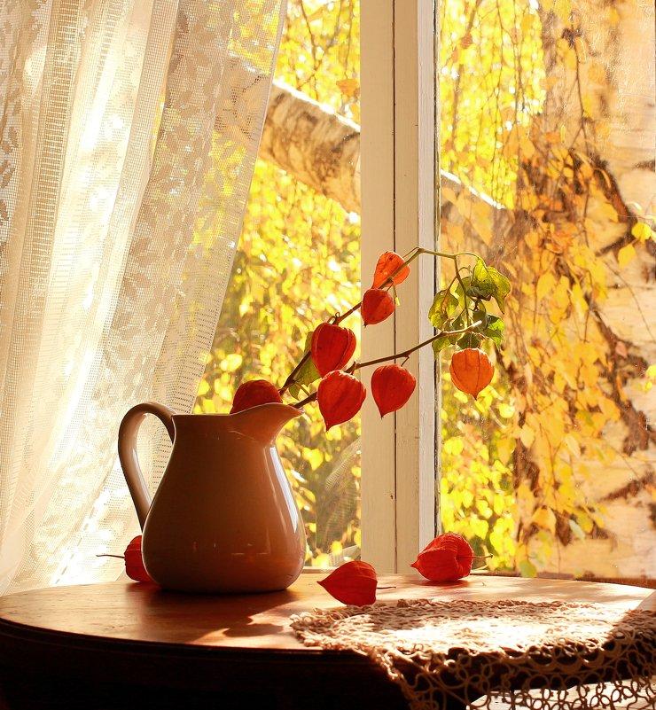 Окно  в  осень - Наталья Казанцева