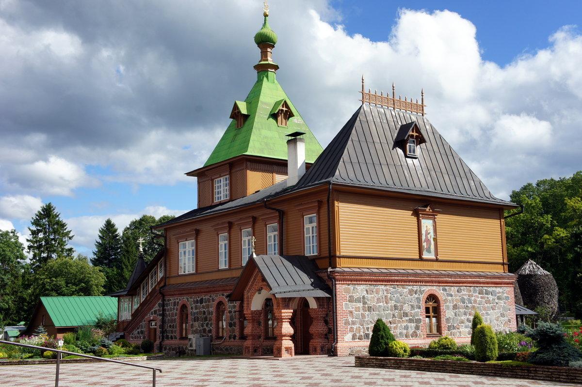 Симеоно-Аннинская церковь (1895 год), объединенная с трапезной - Елена Павлова (Смолова)