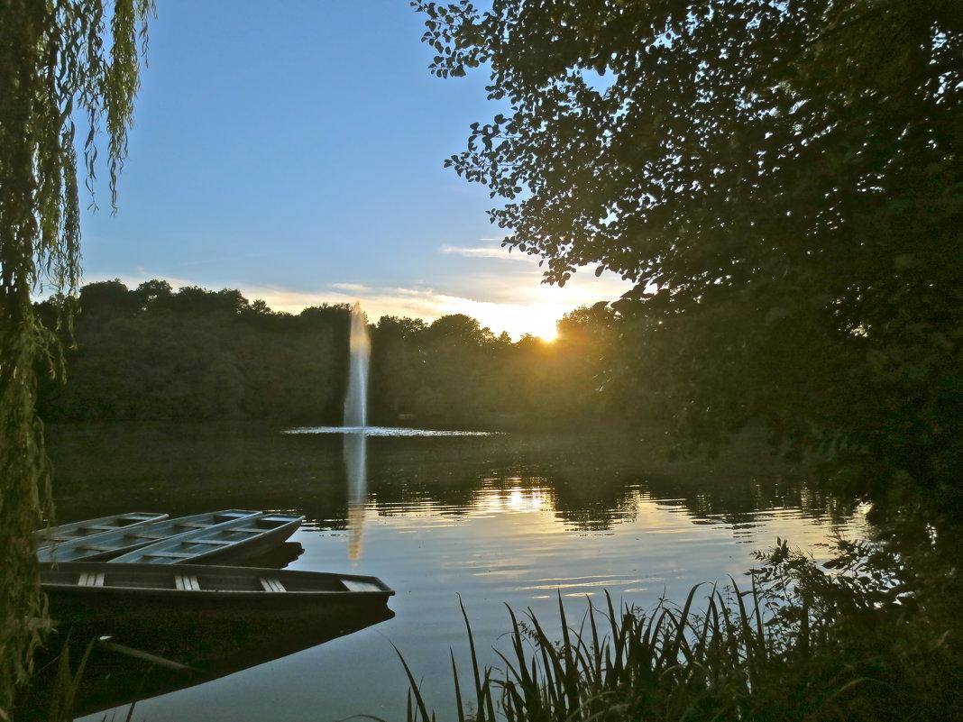 вечер с фонтаном - Елена