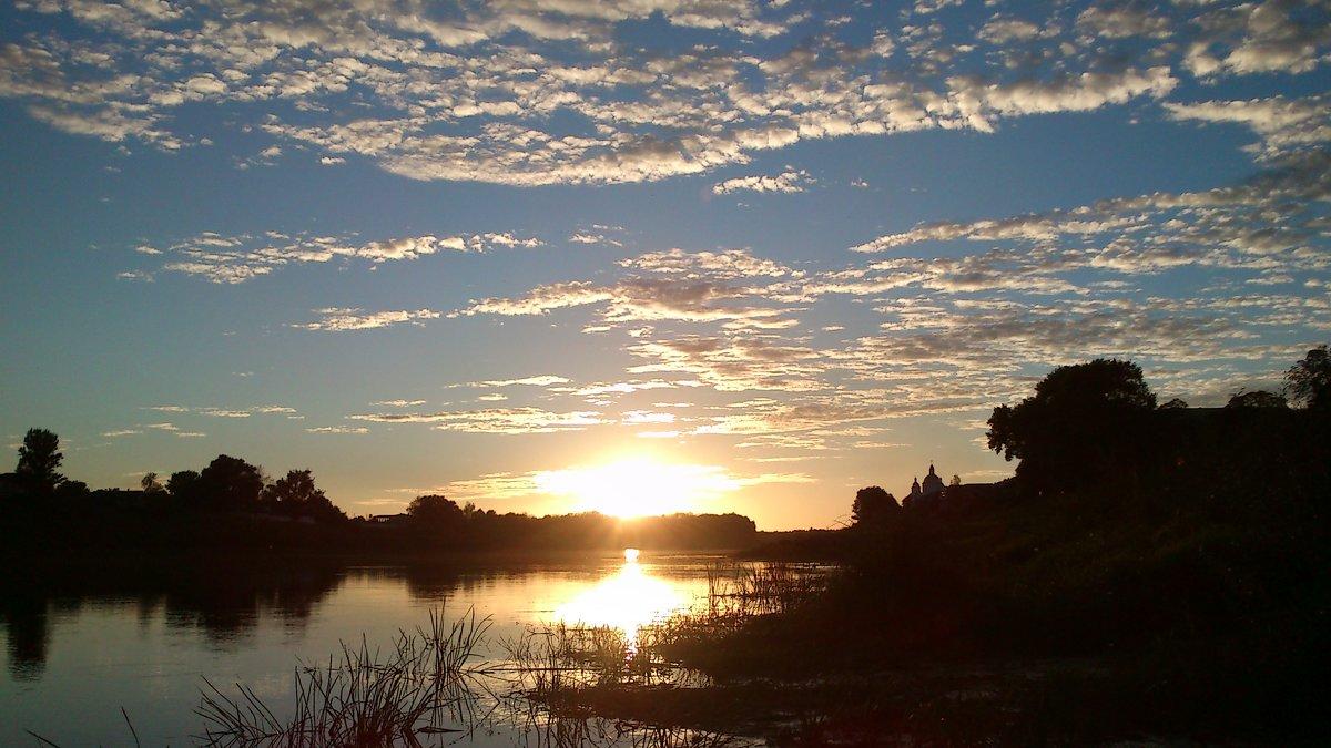 закат на реке - youry