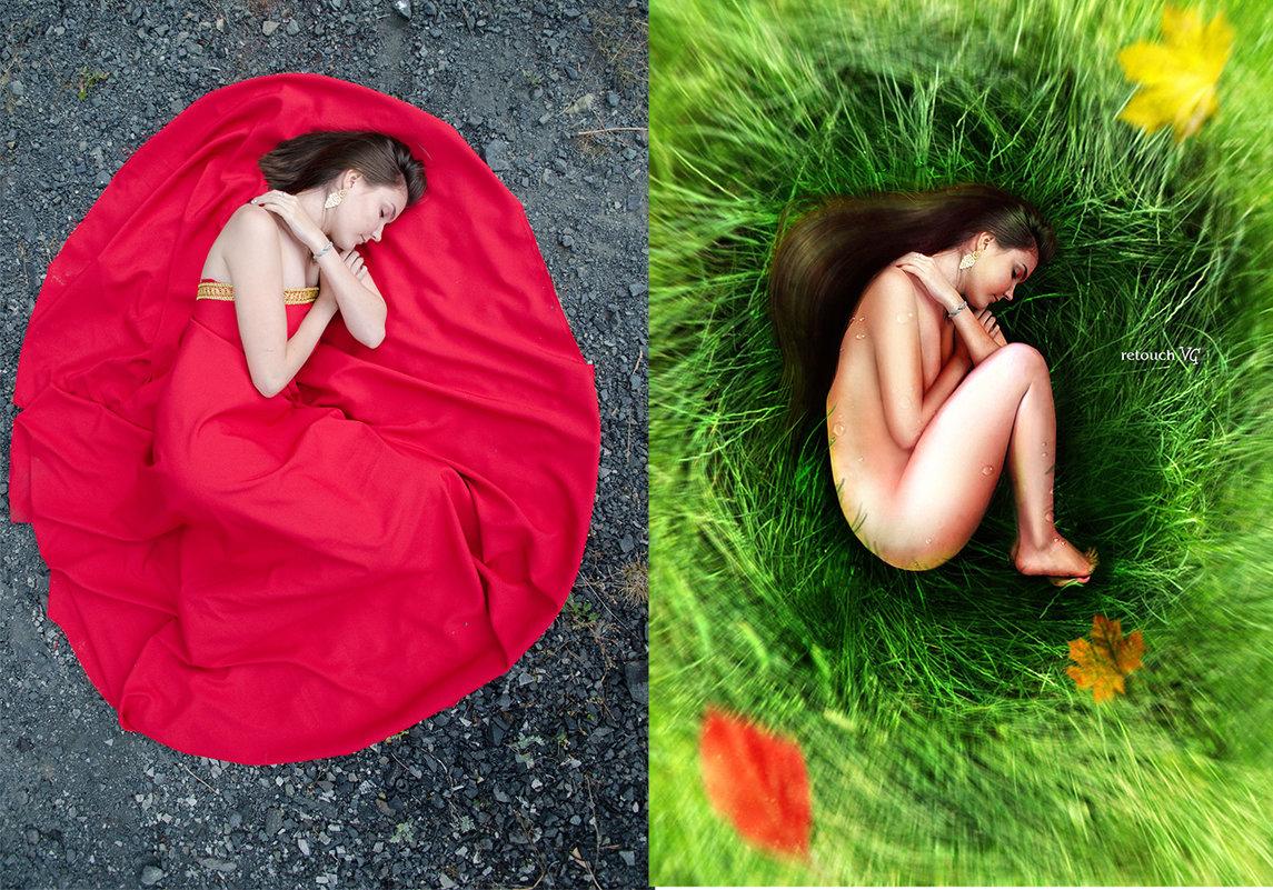 сон (до и после) - Veronika G