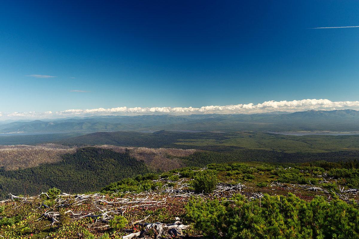 Вид на Амур с горы Адзи. - Поток