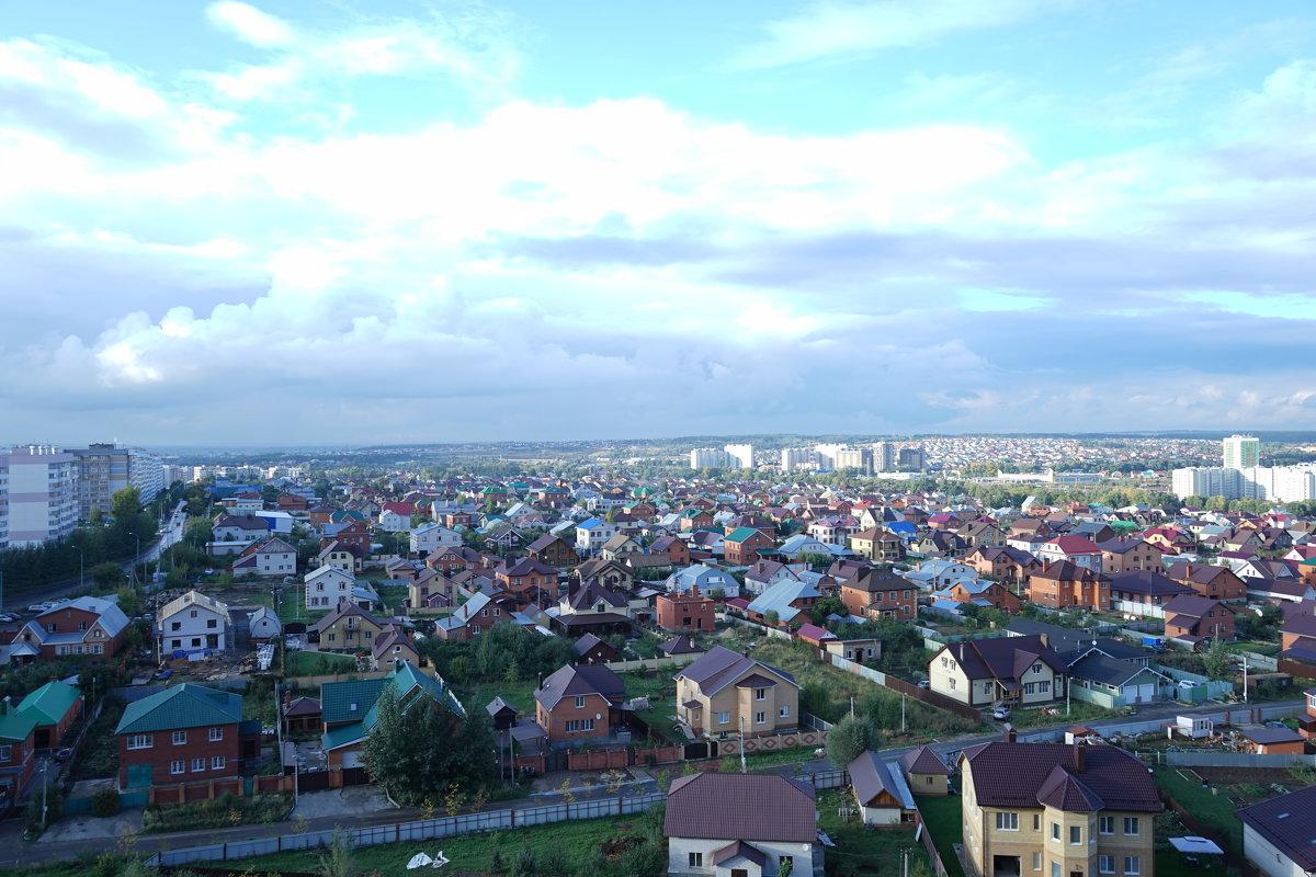 вид из окна. на новую камеру Sony 7A - Ильназ Фархутдинов