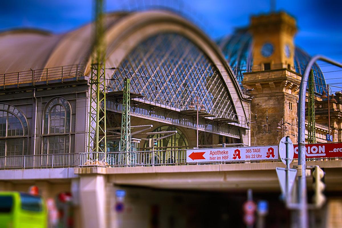 Дрезден. Вокзал - Татьяна Каримова