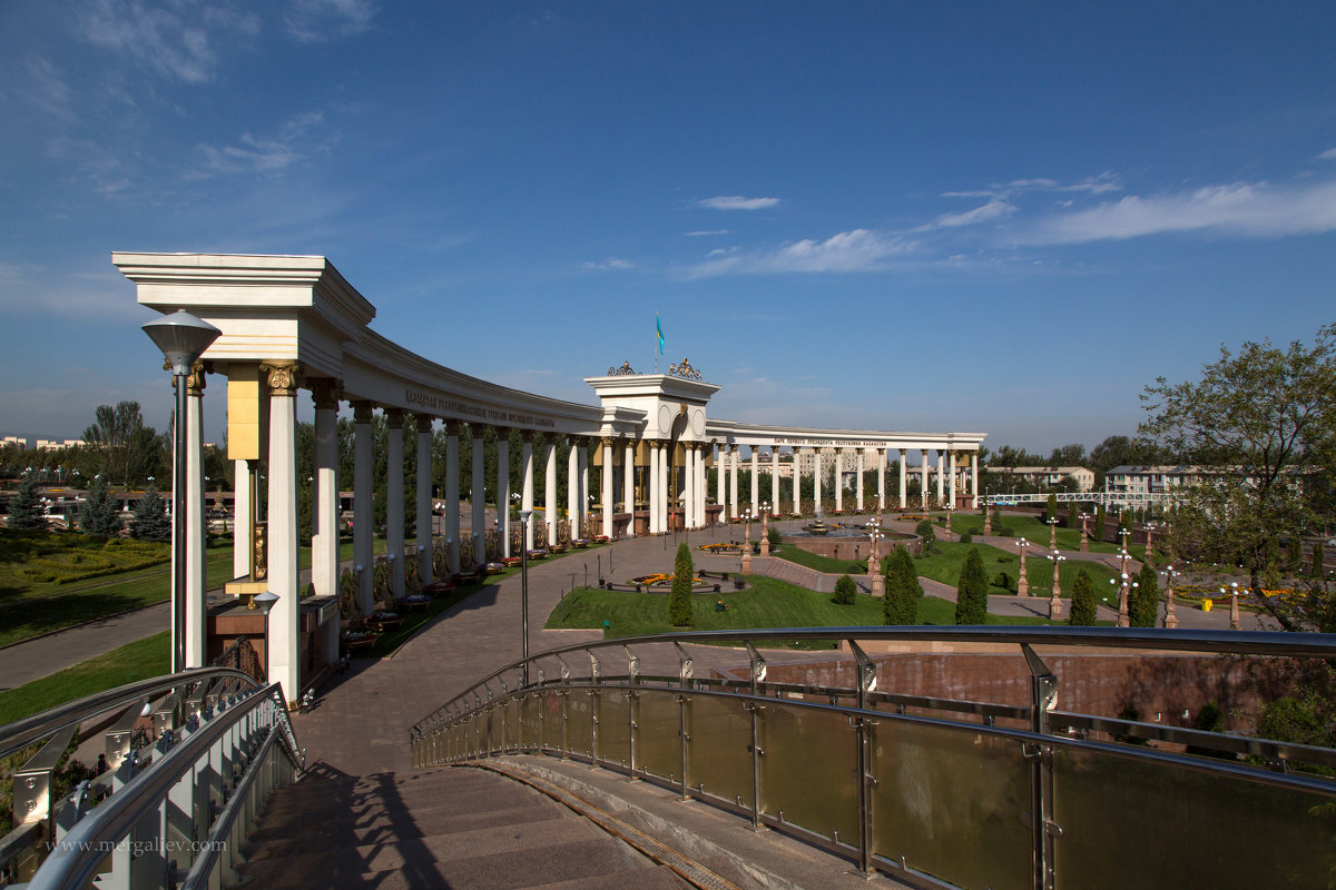 Парк Президента Назарбаева - Евгений Мергалиев