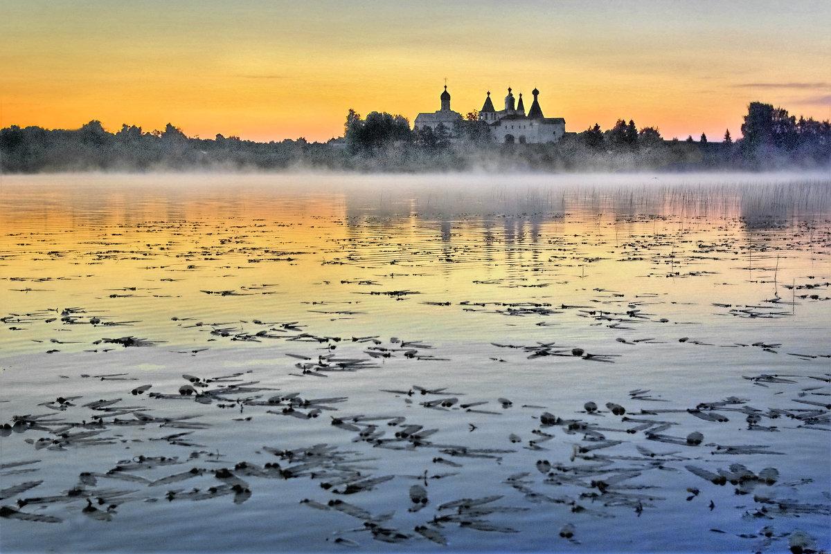 Рассвет на Ферапонтовском озере - Валерий Талашов