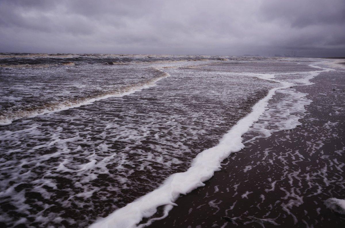 Белое море - шторм. - Елена Третьякова