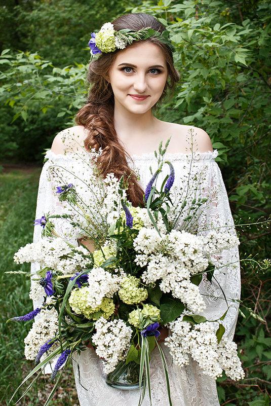 Единение с природой...Свадьба в стиле Botanic - Вероника Пастухова
