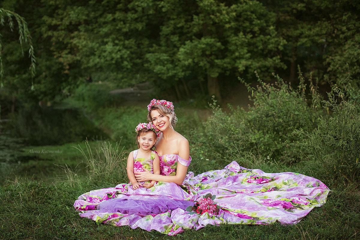 Мама и дочка - Alenka