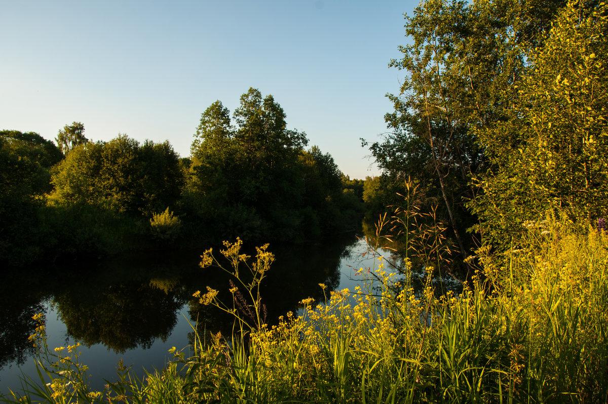Тихий вечер на Угре - Alexander Petrukhin