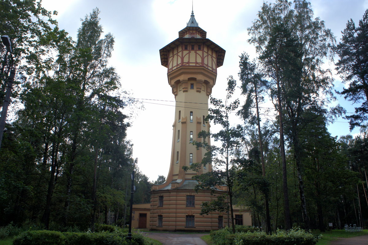 Гидробашня Политехнического Университета - Елена Павлова (Смолова)