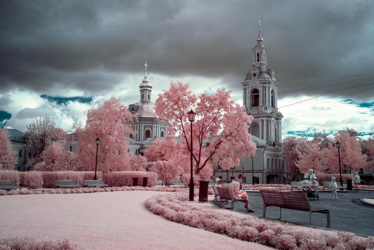 Москва. Сад им. Баумана - Андрей Воробьев