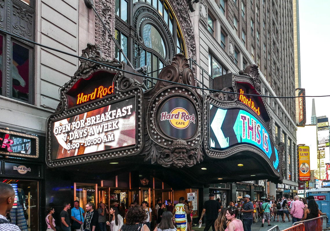 Hard Rock Cafe  - New York - Павел L