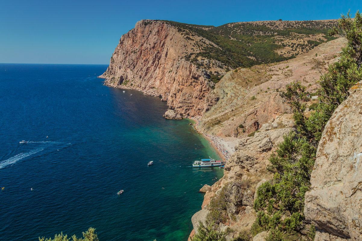 Вид на пляж Васили - Nyusha