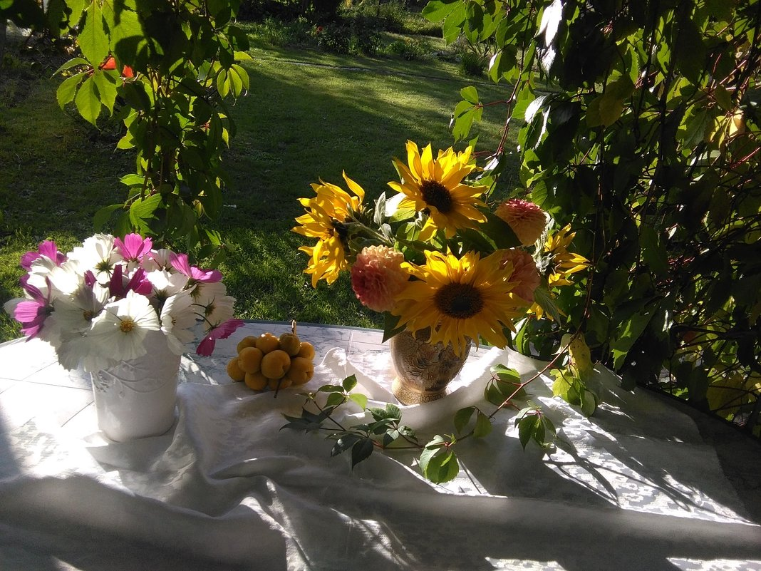 В саду - Mariya laimite