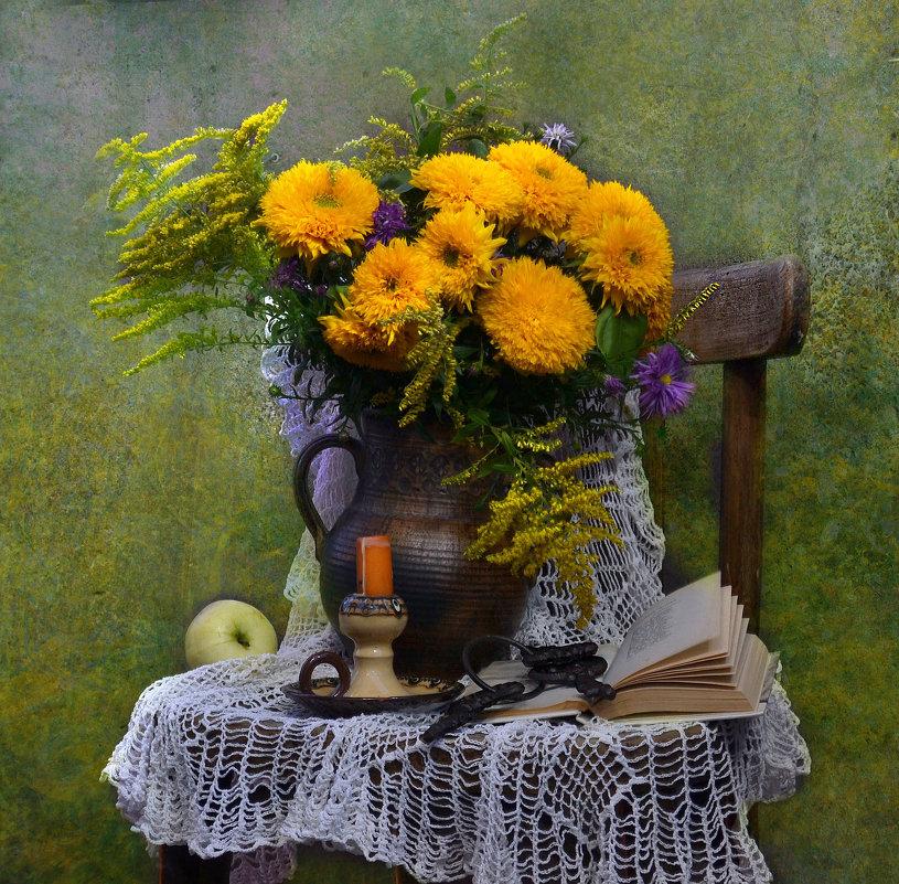 Желтоглазая осень нарядилась в наряды... - Валентина Колова