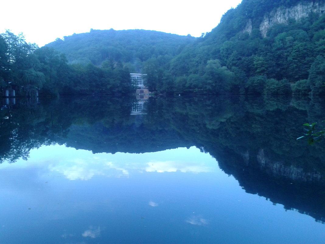 небо упало в озеро - musa