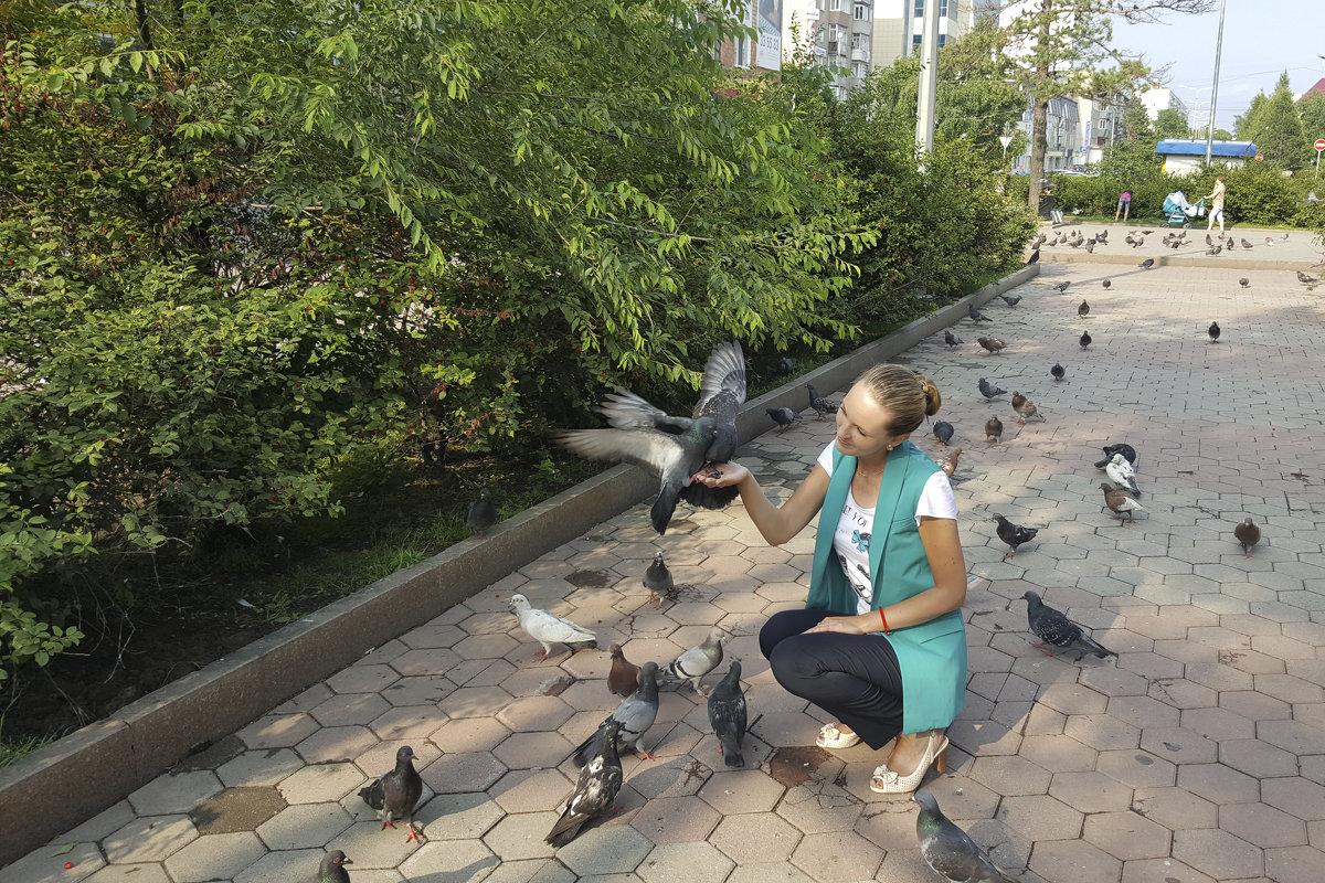 Я и голуби - Юлия Руденко