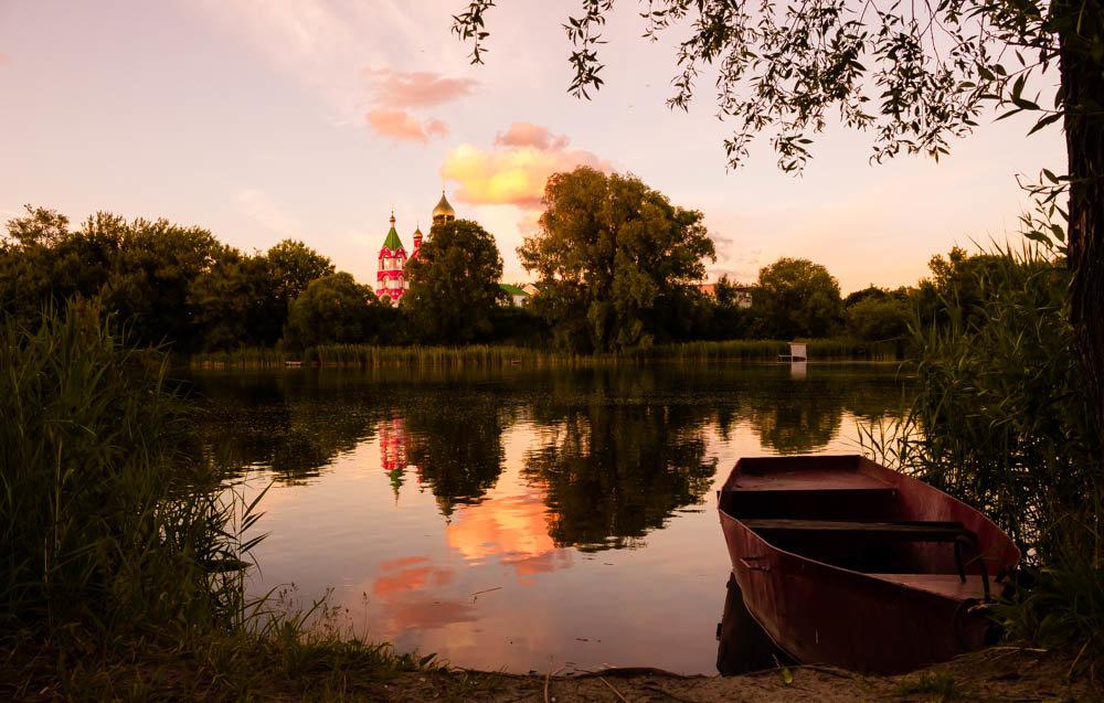 вечерний пейзаж - Катерина