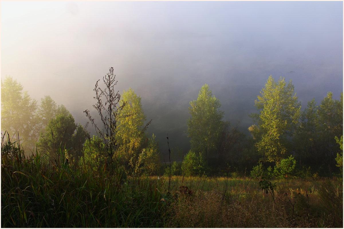 Утро.Туман и солнце. - Владимир Михайлович Дадочкин