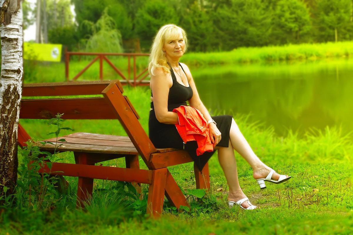 У деревенского пруда - Олег Каплун
