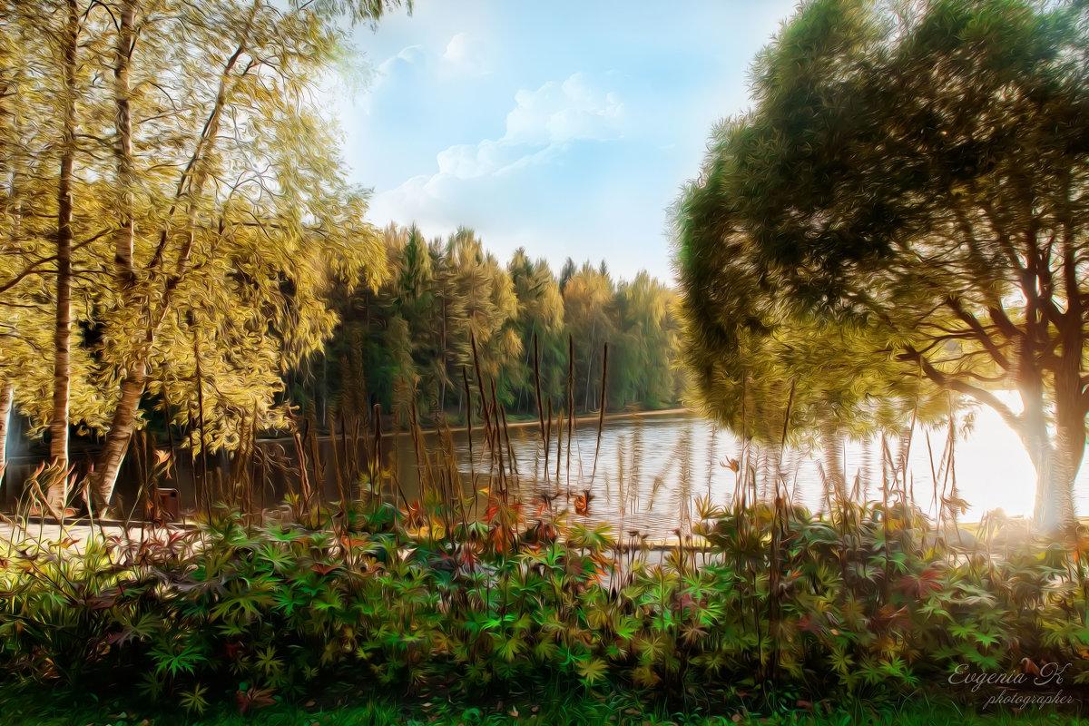 Рисунок  начала осени - Евгения К