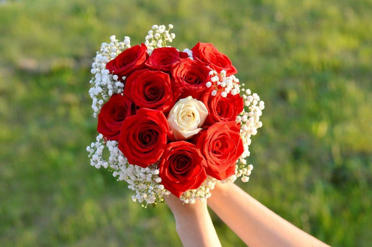 Букетик невесты...на 10 лет свадьбы! - Марина Романова