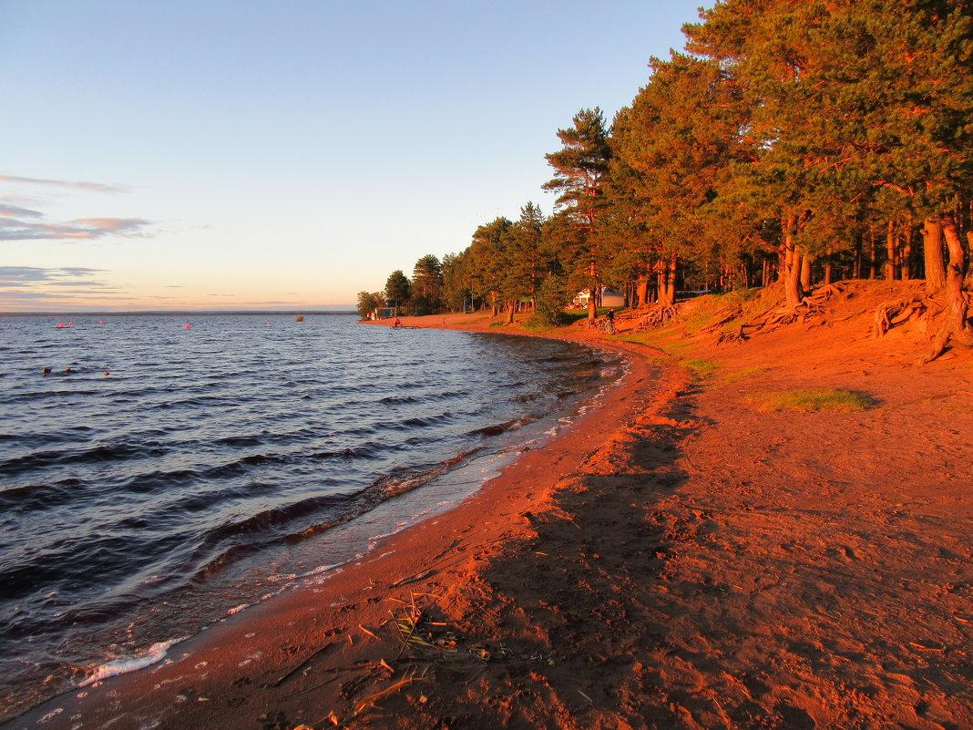 Пляж «Зелёная гора» в лучах заката - genar-58 '
