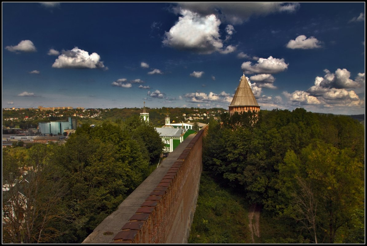 стены древнего Смоленска - Дмитрий Анцыферов