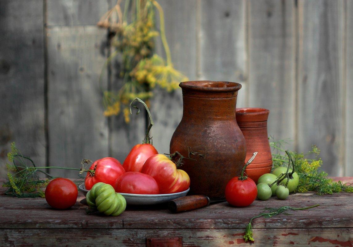 С  помидорами (фото 2) - Наталья Казанцева