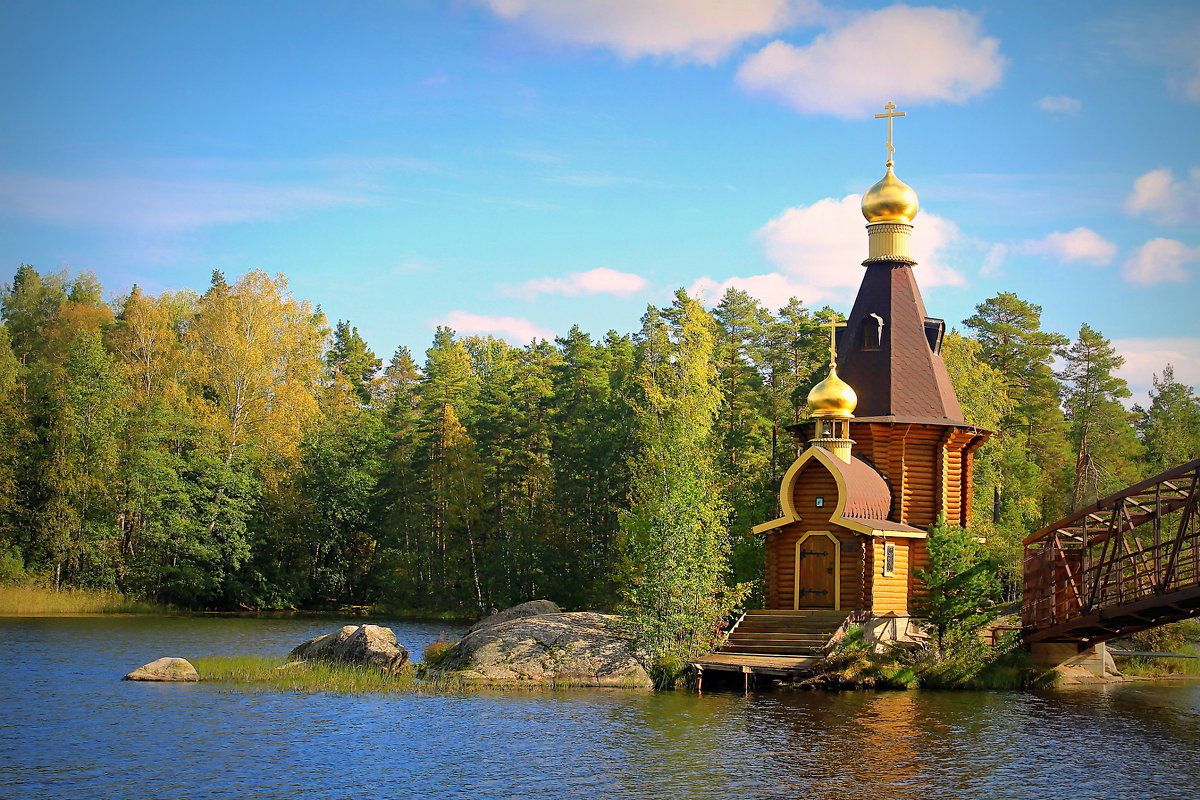 Церковь Андрея Первозванного - Marina Pavlova