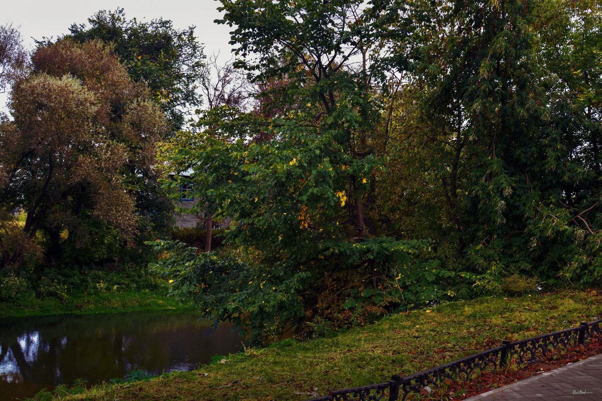 Осень у скверика - Юрий