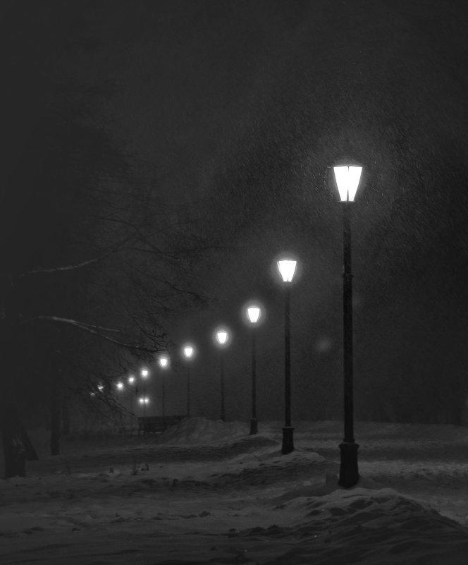 Снегопад - Владимир Брагилевский