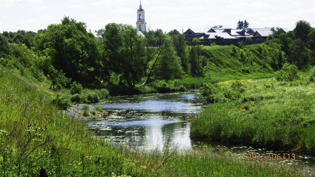 река ведущая в моностырь - Таня