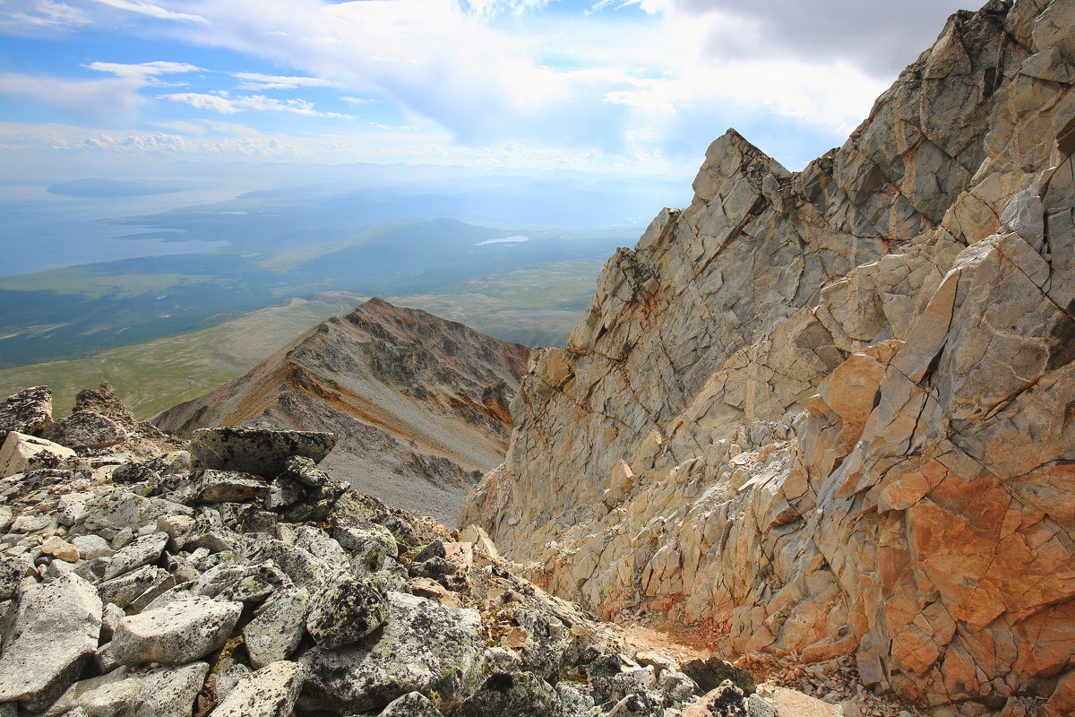 Монголия, с трека на гору Мунку-Сардык - Владимир Кузьмищев