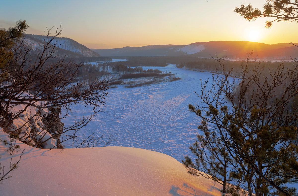 Зимний закат - Анатолий Иргл