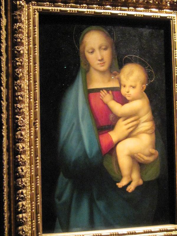 Рафаэль. Мадонна с младенцем.1504-1508 - Маера Урусова