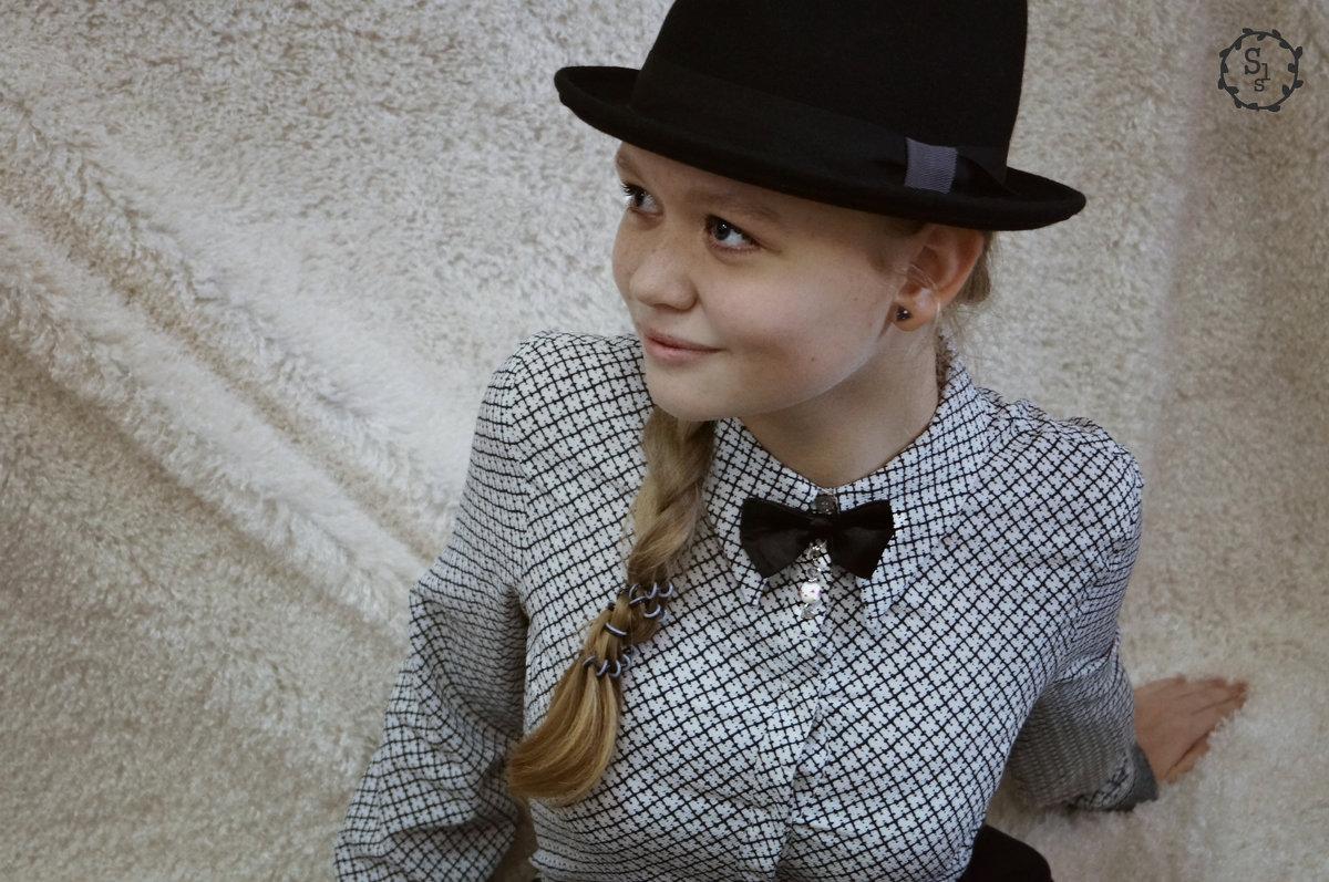 чёрно-белый в моде - Софья Лейкина