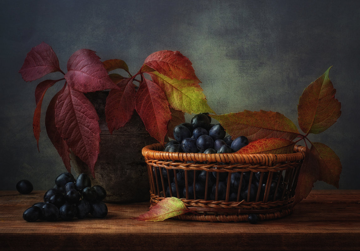 с виноградом... - Natali-C C