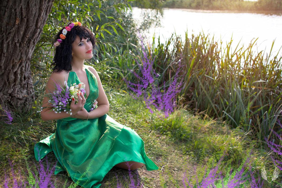 фея цветов... - Райская птица Бородина